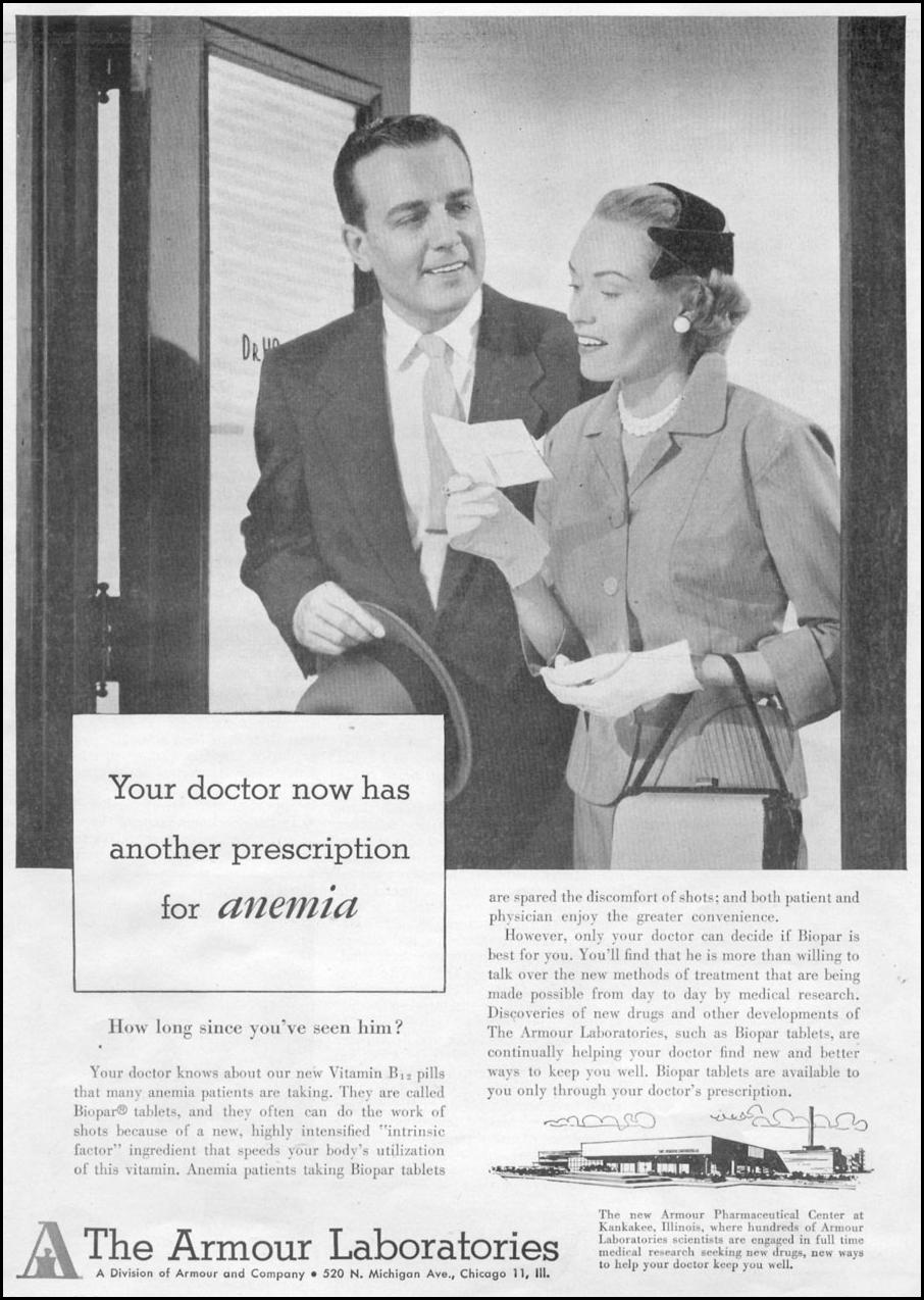 ANEMIA MEDICATION TIME 08/31/1953 p. 39