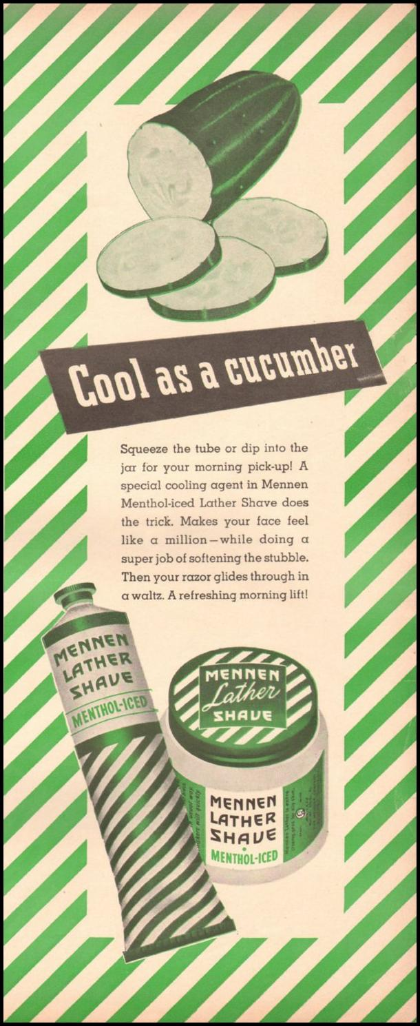 MENNEN LATHER SHAVE LIFE 06/22/1942 p. 43