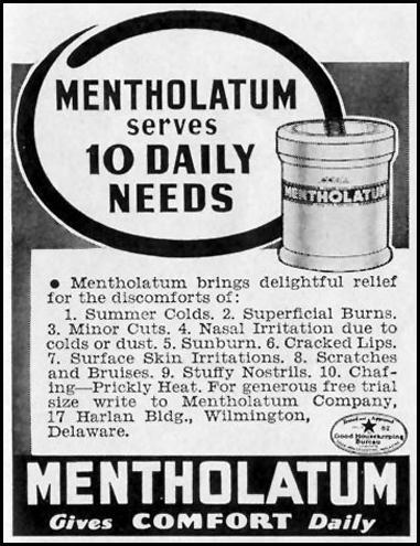 MENTHOLATUM LIFE 06/23/1941 p. 79