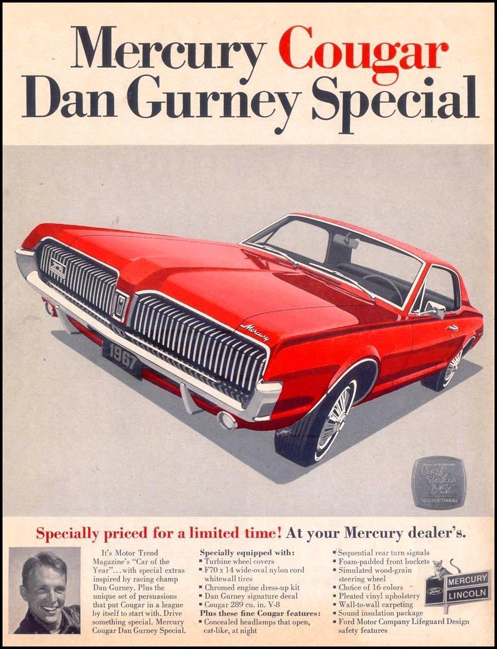 MERCURY AUTOMOBILES LIFE 05/19/1967 p. 2