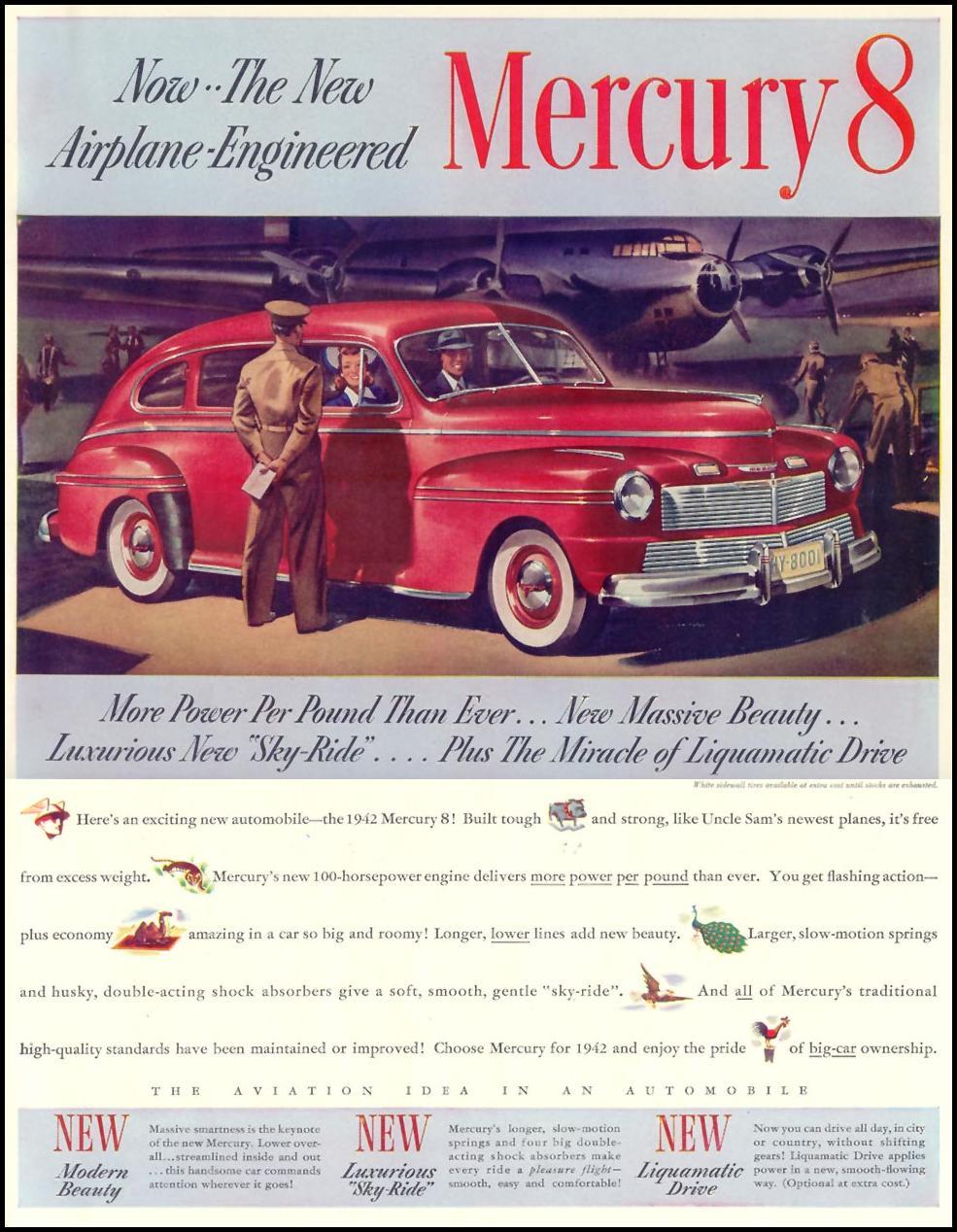 MERCURY AUTOMOBILES LIFE 10/13/1941