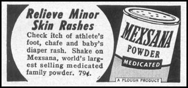 MEXSANA MEDICATED POWDER LIFE 11/14/1955 p. 170