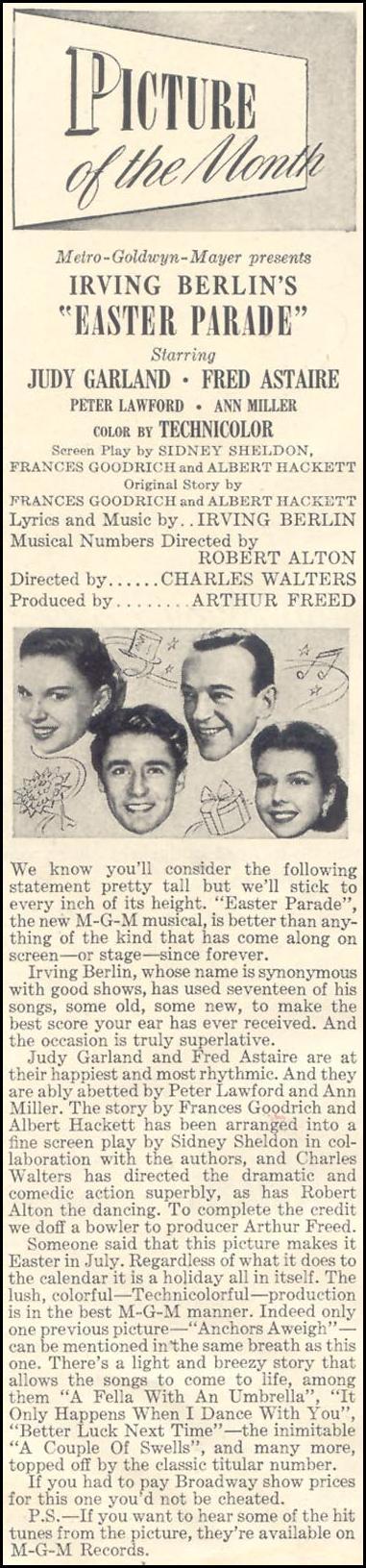 EASTER PARADE GOOD HOUSEKEEPING 07/01/1948 p. 2