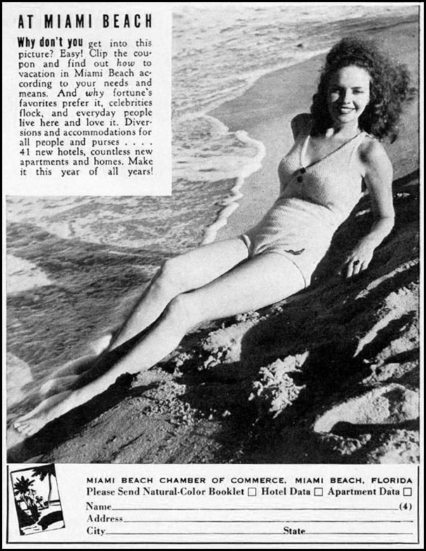 MIAMI BEACH VACATIONS LIFE 12/16/1940 p. 103