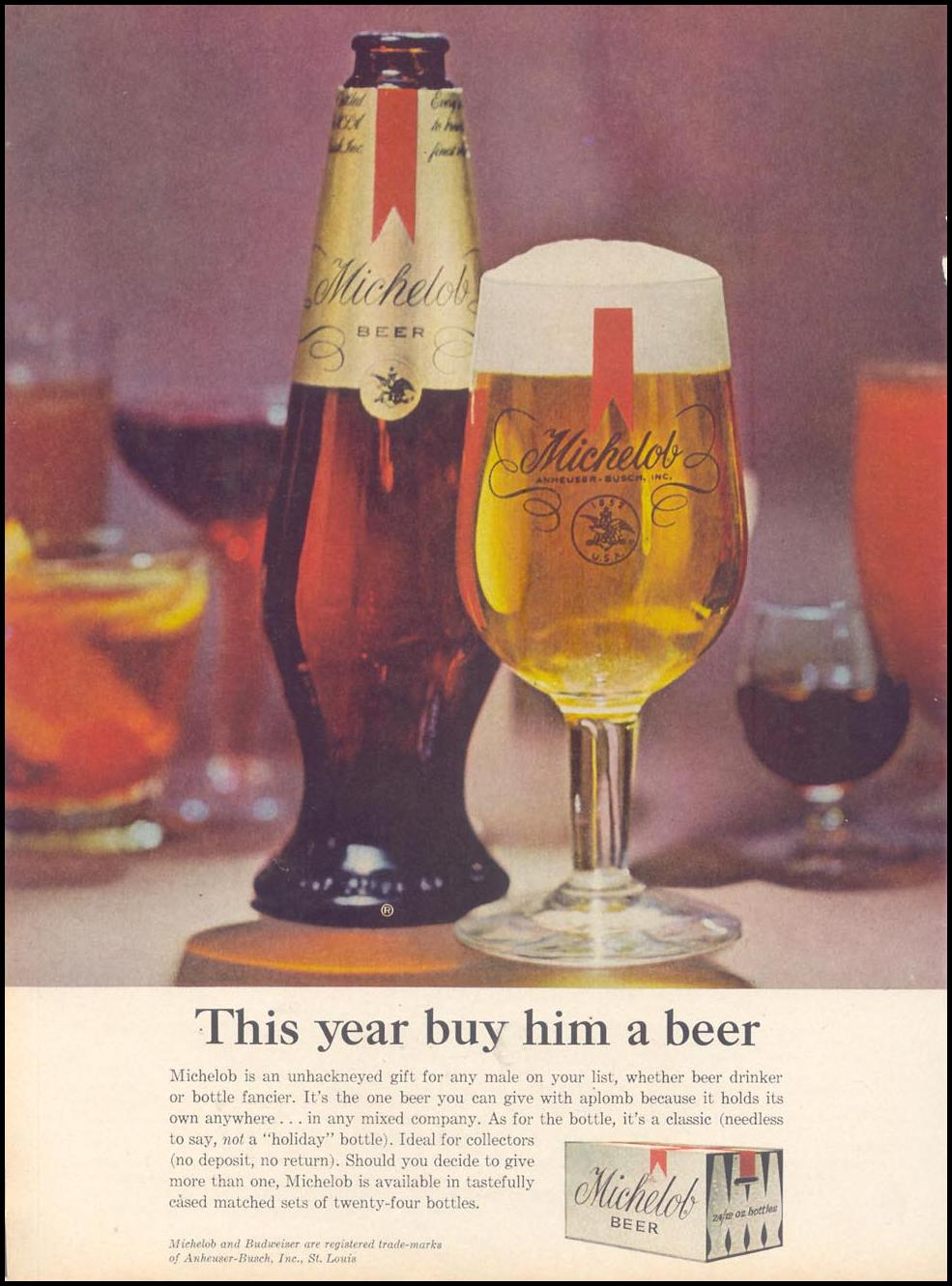 MICHELOB BEER TIME 12/06/1963 p. 40