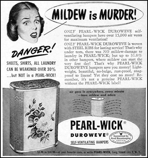 PEARL-WICK DUROWEVE SELF-VENTILATING HAMPERS