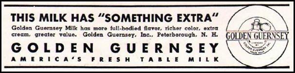 GOLDEN GUERNSEY MILK BETTER HOMES AND GARDENS 05/01/1936 p. 80