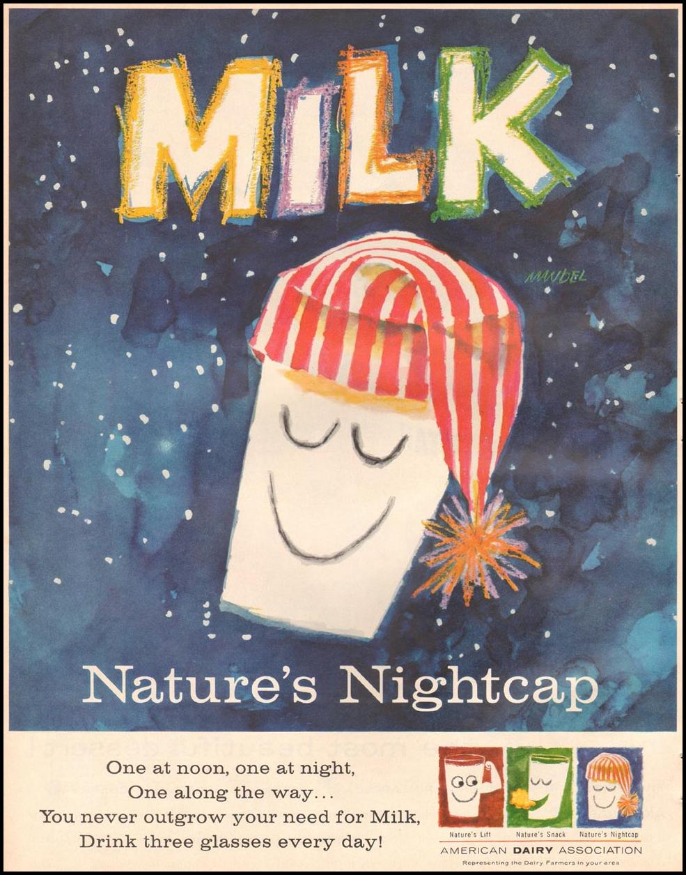 MILK BETTER HOMES AND GARDENS 03/01/1960