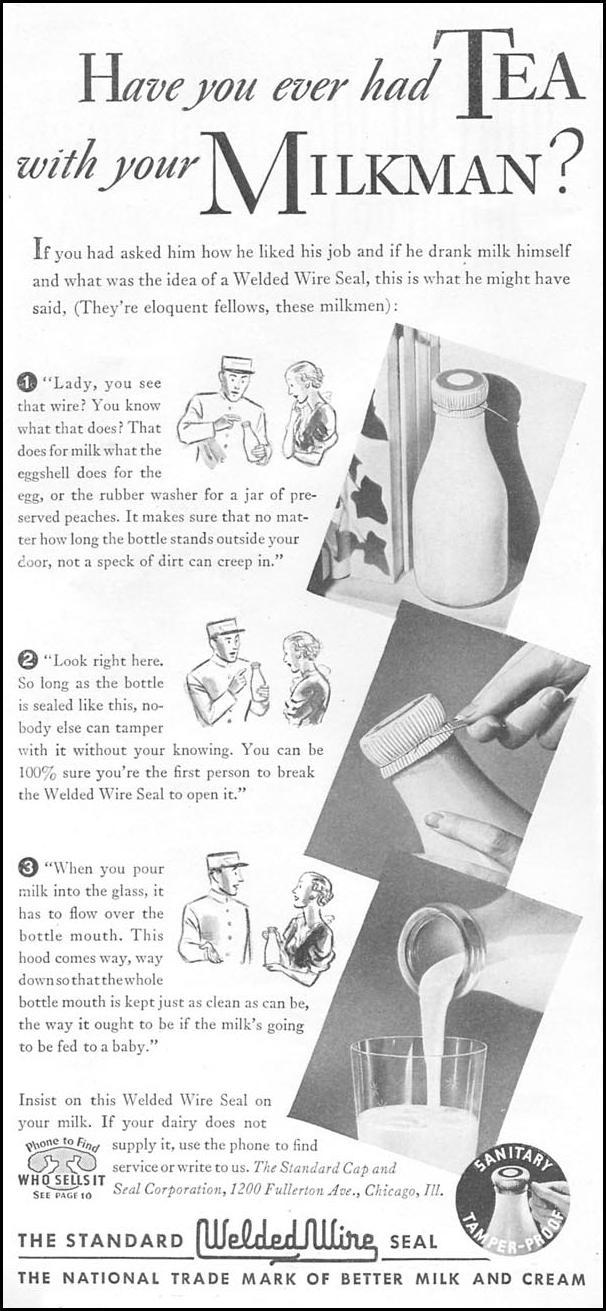 WELDED WIRE SEAL GOOD HOUSEKEEPING 04/01/1936 p. 192