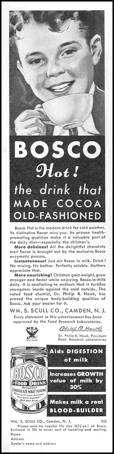 BOSCO GOOD HOUSEKEEPING 12/01/1933 p. 124