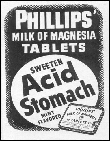 PHILLIPS' MILK OF MAGNESIA TABLETS LIFE 06/16/1952 p. 100