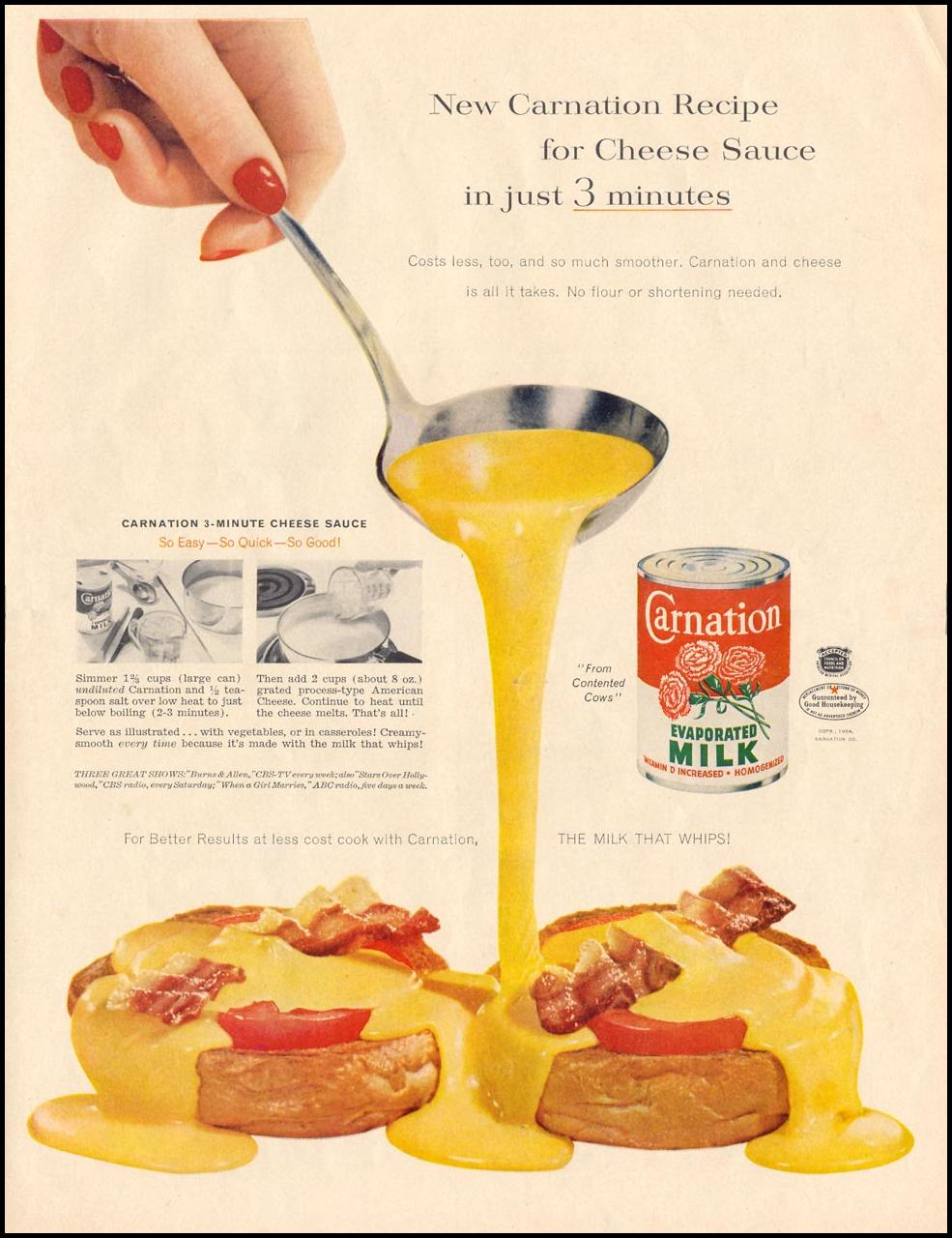 CARNATION EVAPORATED MILK LIFE 07/12/1954 p. 37