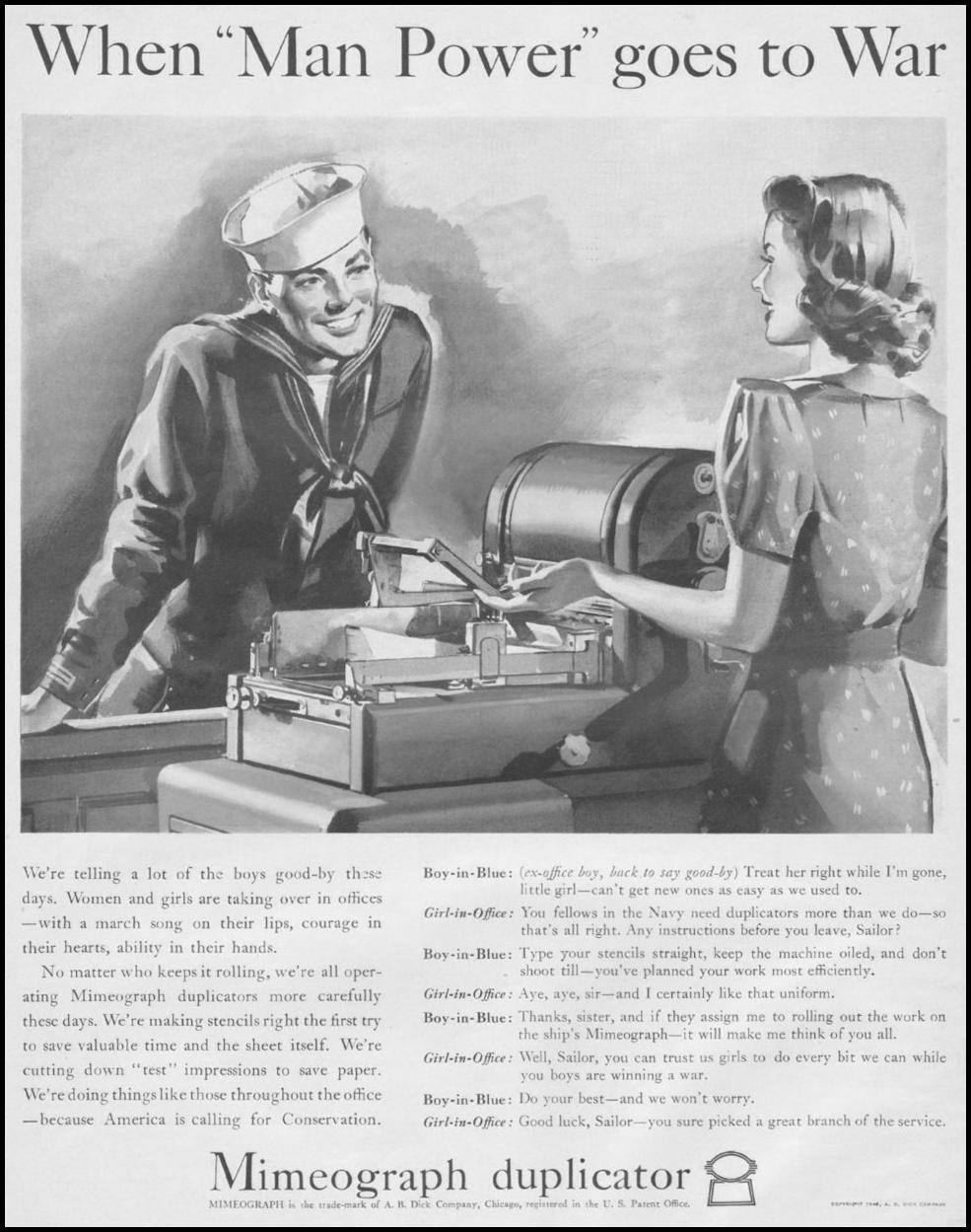 MIMEOGRAPH LIFE 06/22/1942 p. 14