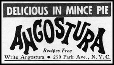 ANGOSTURA AROMATIC BITTERS GOOD HOUSEKEEPING 12/01/1935 p. 190