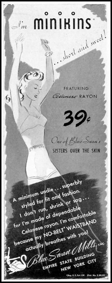BLUE SWAN UNDIES LIFE 09/16/1940 p. 92