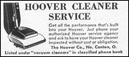 HOOVER VACUUM REPAIR LIFE 06/16/1952 p. 100