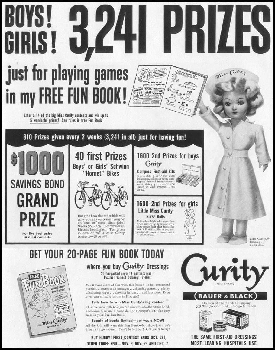 CURITY HEALTHCARE PRODUCTS LIFE 10/13/1952 p. 47
