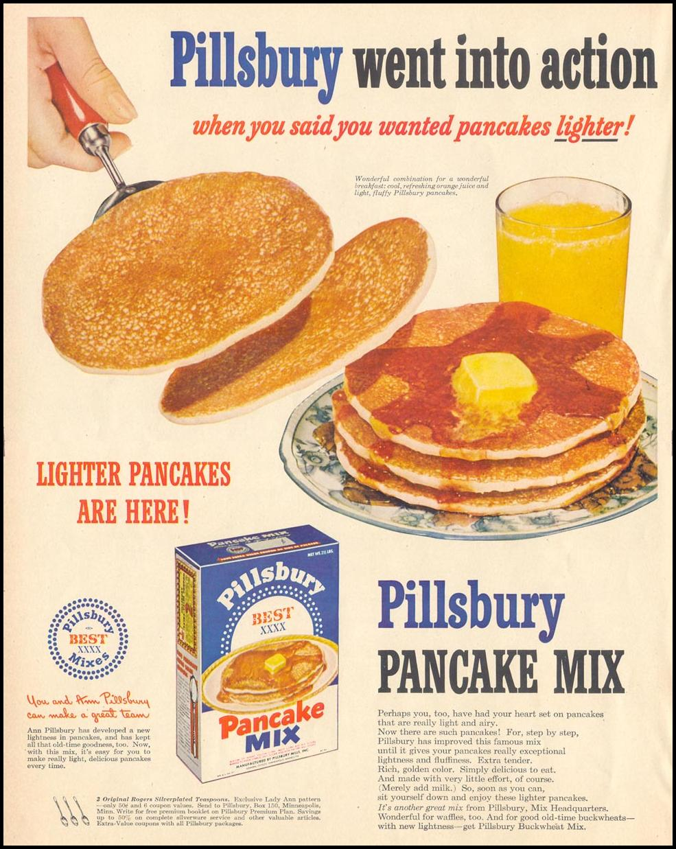 PILLSBURY PANCAKE MIX LIFE 06/05/1950 p. 66