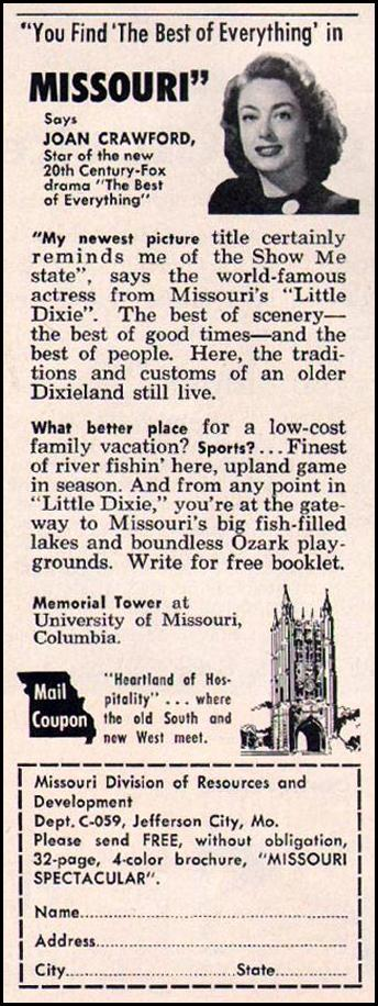MISSOURI VACATIONS BETTER HOMES AND GARDENS 03/01/1960 p. 88
