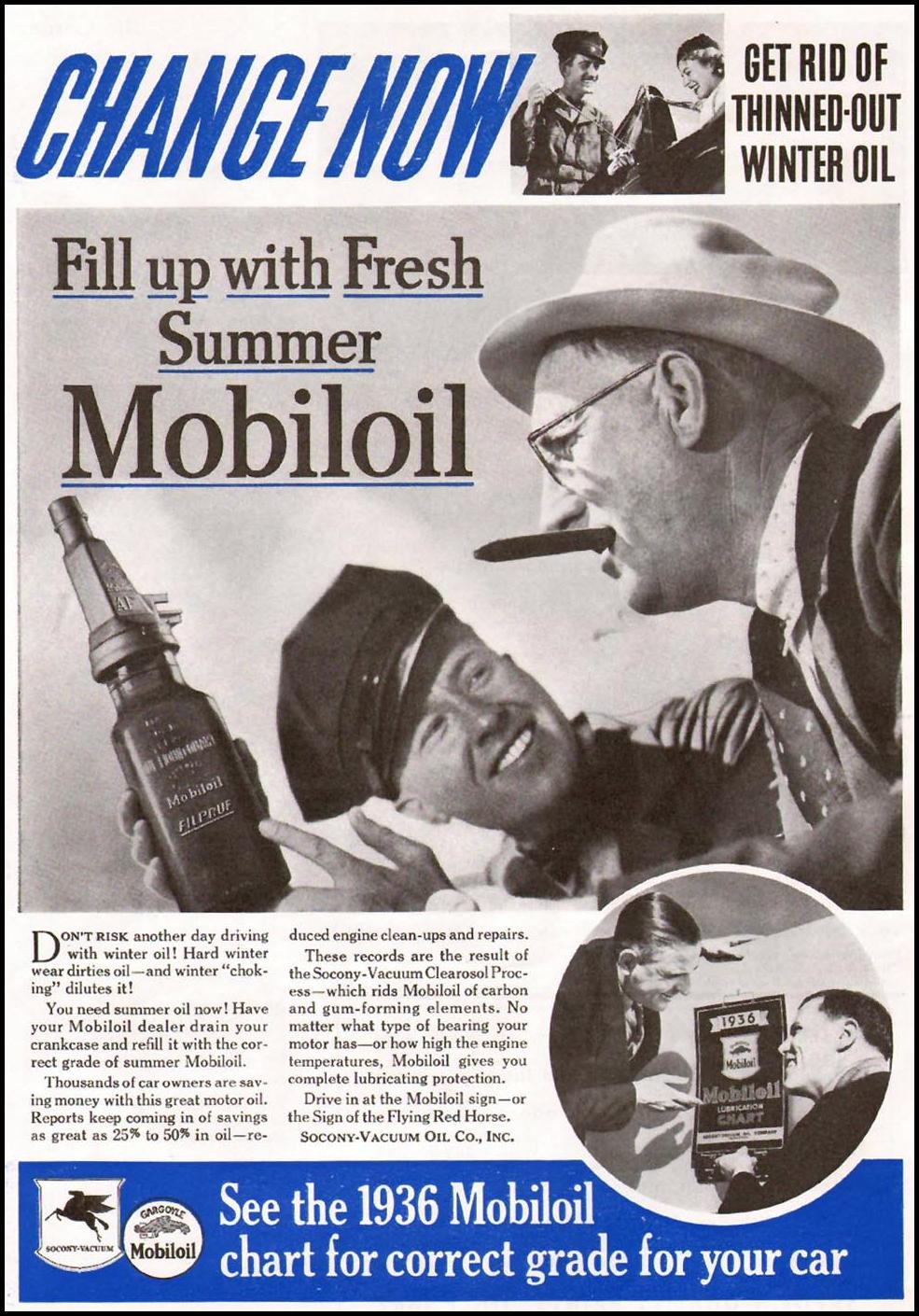 MOBILOIL BETTER HOMES AND GARDENS 05/01/1936 p. 65