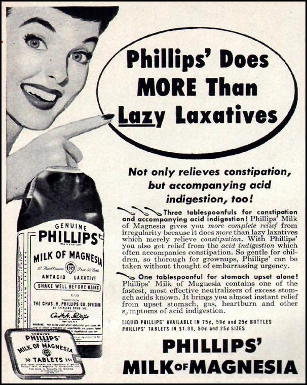 PHILLIPS' MILK OF MAGNESIA LIFE 10/01/1951 p. 120
