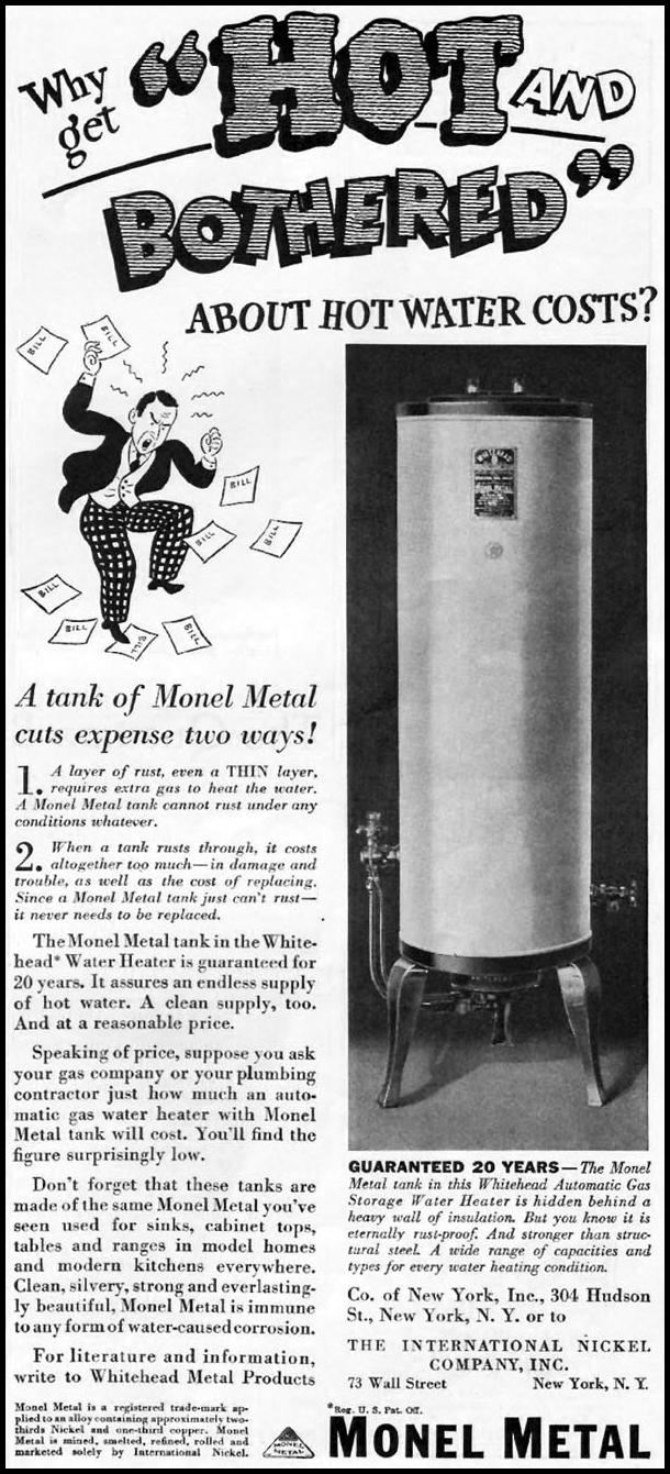 MONEL METAL BETTER HOMES AND GARDENS 05/01/1936 p. 89