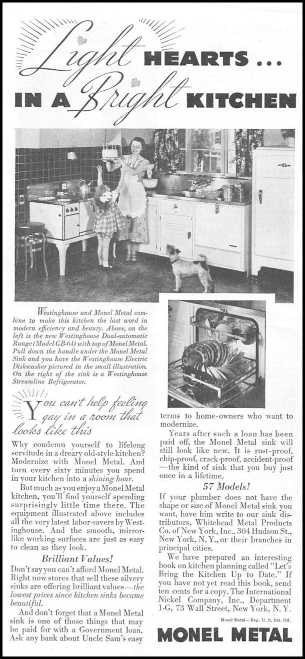 MONEL METAL GOOD HOUSEKEEPING 06/01/1935 p. 178