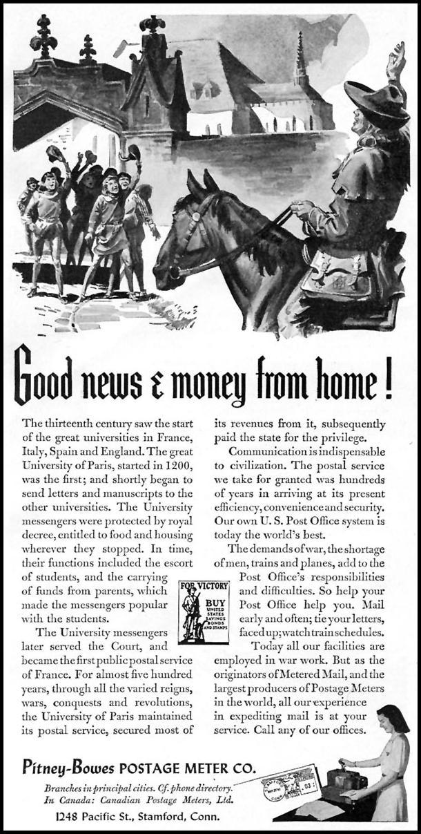 POSTAL SERVICE TIME 11/02/1942 p. 52