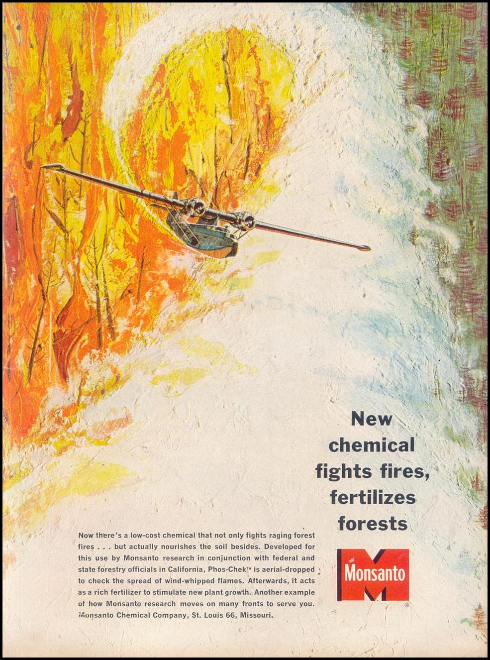 MONSANTO FIRE-FIGHTING CHEMICALS TIME 02/01/1963 p. 25