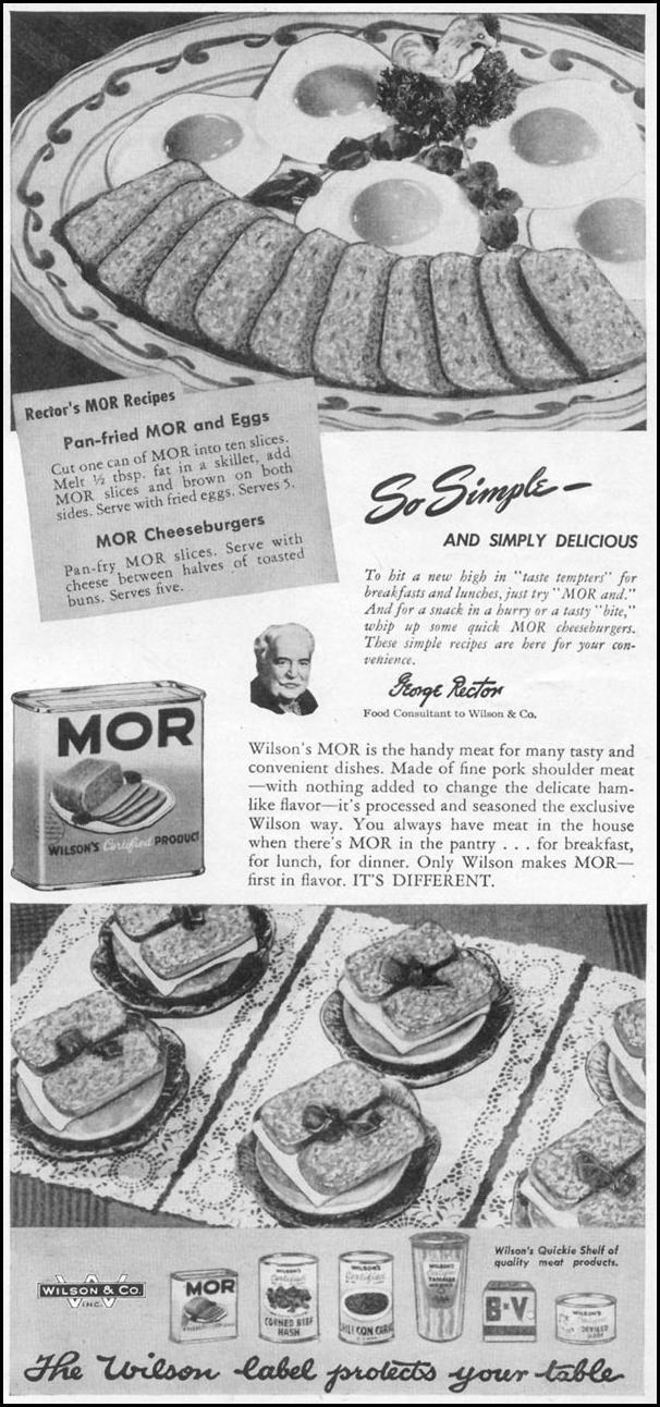 WILSON'S MOR WOMAN'S DAY 05/01/1947 p. 73
