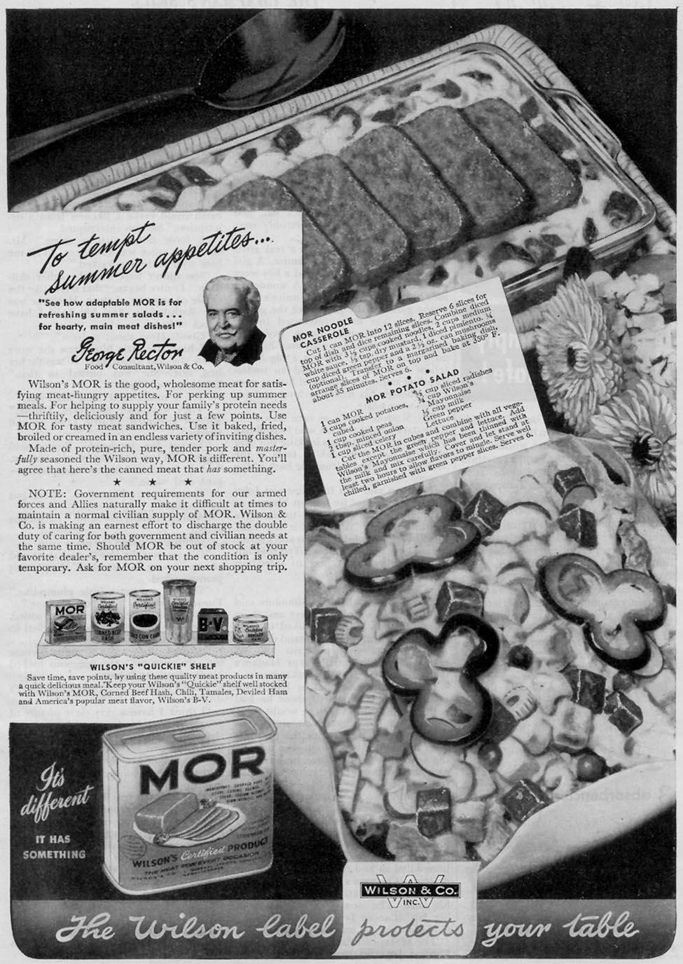 WILSON'S MOR WOMAN'S DAY 07/01/1945 p. 55