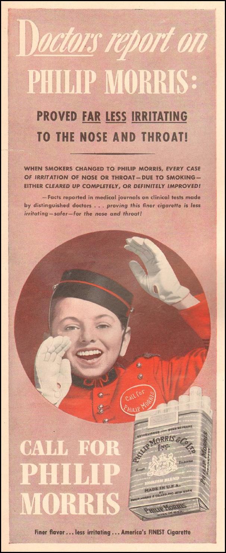 PHILIP MORRIS CIGARETTES LIFE 06/22/1942 p. 46