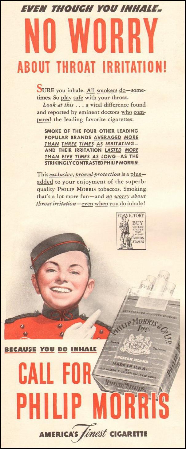 PHILIP MORRIS CIGARETTES LIFE 06/22/1942 p. 50
