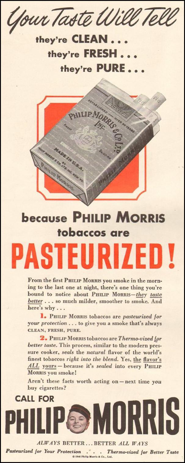 PHILIP MORRIS CIGARETTES LIFE 11/25/1946 p. 14