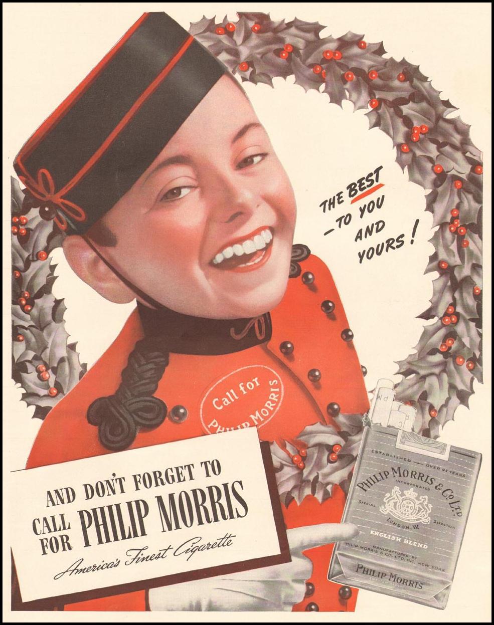 PHILIP MORRIS CIGARETTES LIFE 12/16/1940 p. 75