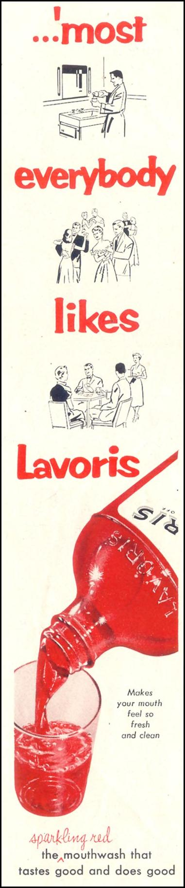 LAVORIS SATURDAY EVENING POST 07/23/1955 p. 68