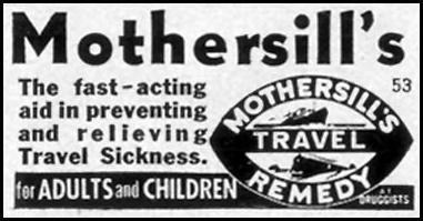 MOTHERSILL'S TRAVEL REMEDY LIFE 09/07/1953 p. 116