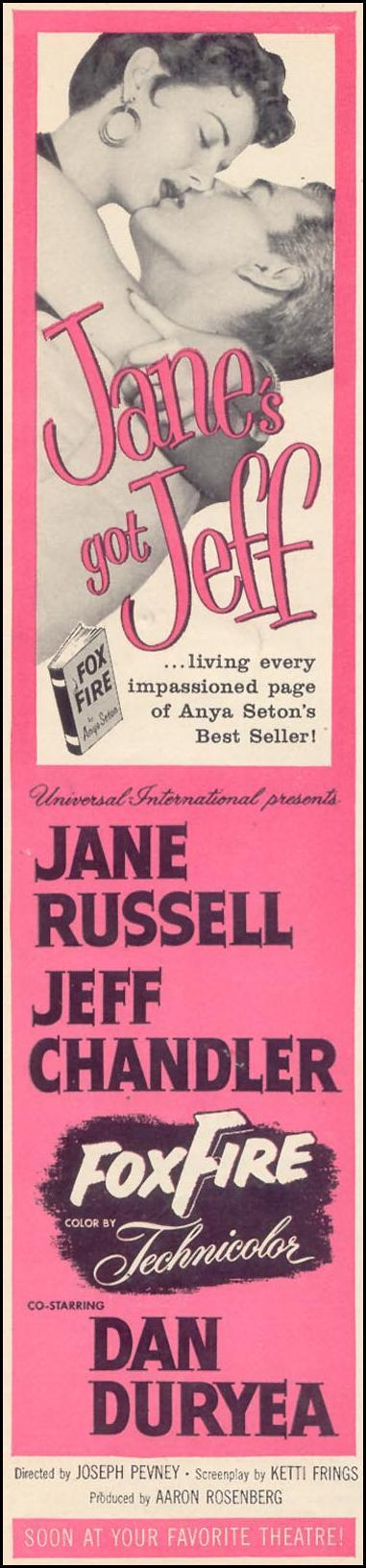 FOXFIRE WOMAN'S DAY 07/01/1955 p. 8