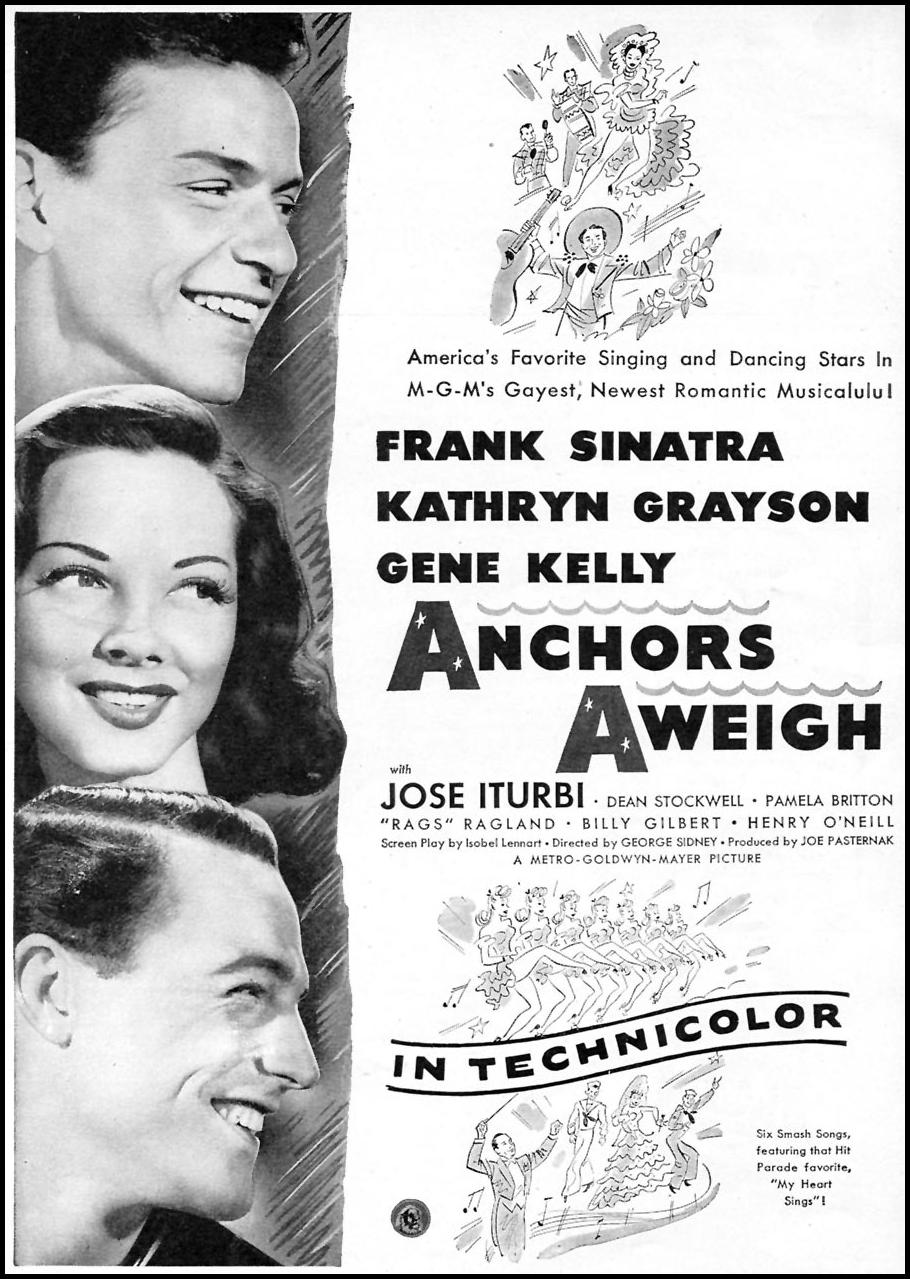 ANCHORS AWEIGH WOMAN'S DAY 09/01/1945 p. 51
