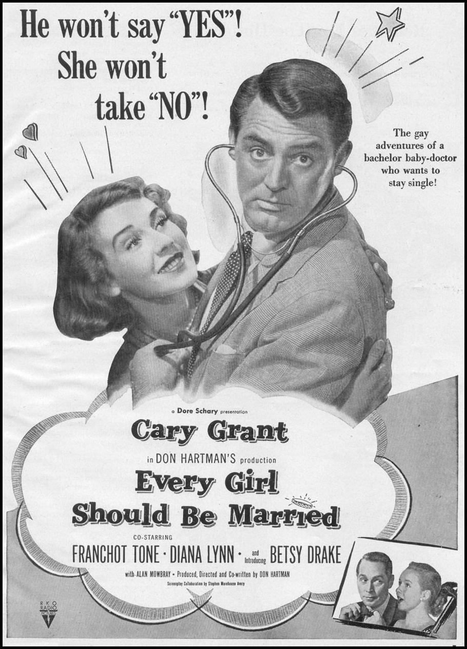 EVERY GIRL SHOULD BE MARRIED WOMAN'S DAY 12/01/1948 p. 7
