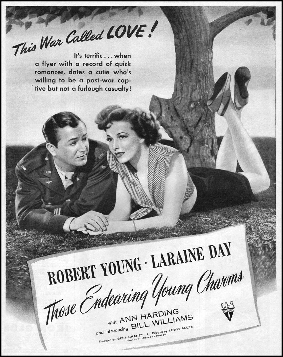 THOSE ENDEARING YOUNG CHARMS LIFE 06/04/1945 p. 45