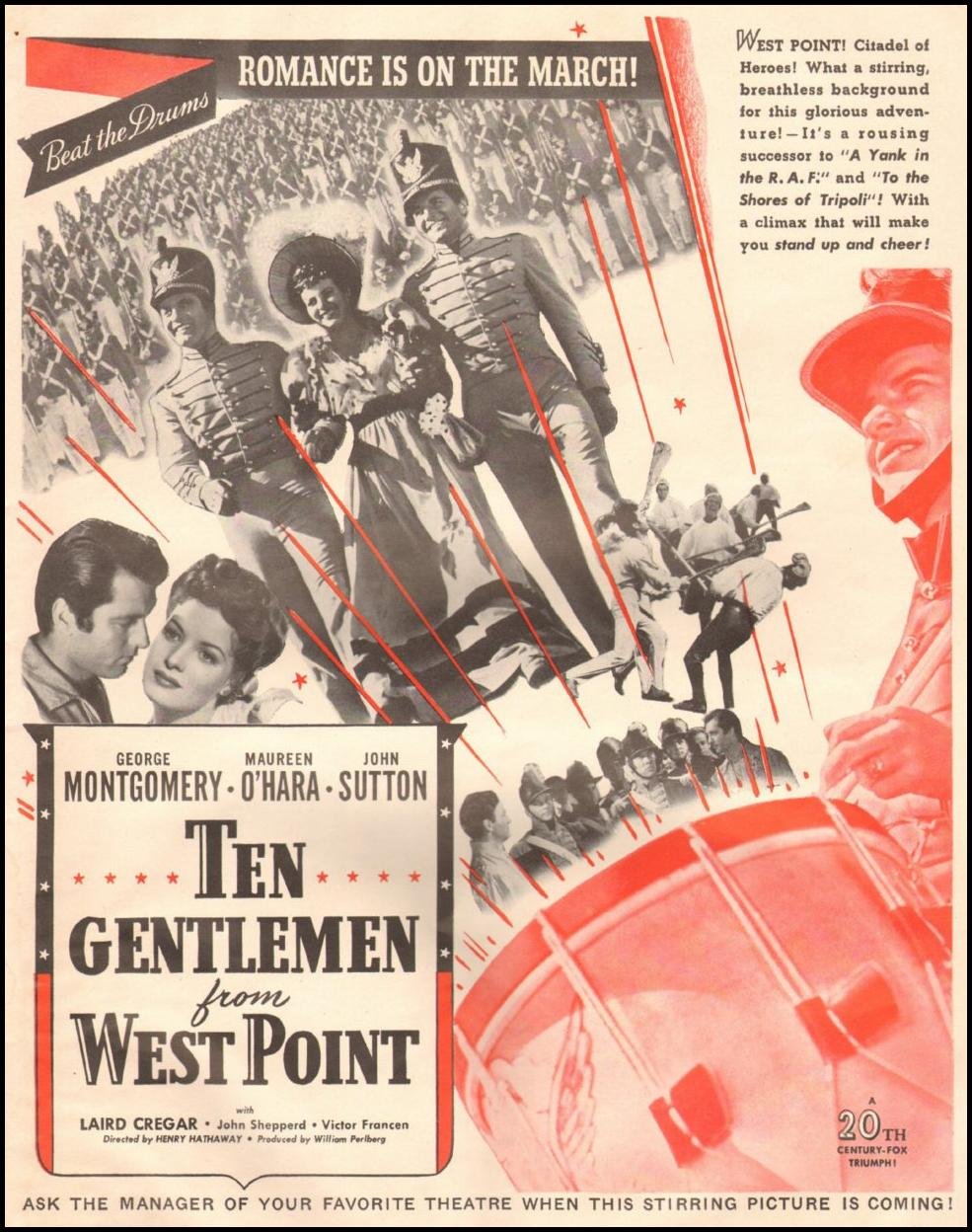 TEN GENTLEMEN FROM WEST POINT LIFE 06/22/1942 p. 7