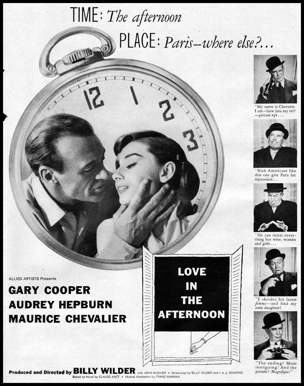 LOVE IN THE AFTERNOON LIFE 06/24/1957 p. 21