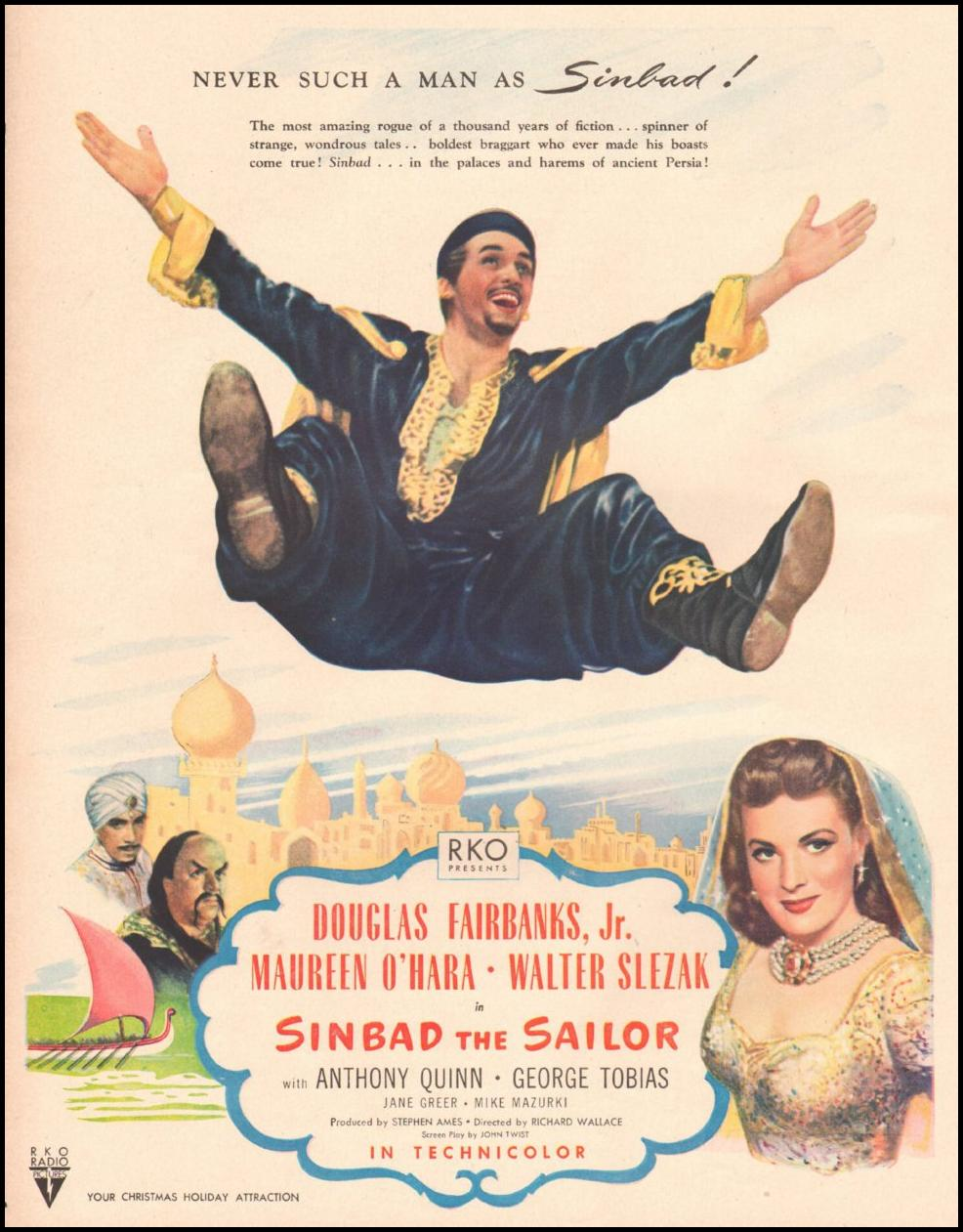 SINBAD THE SAILOR LIFE 11/25/1946
