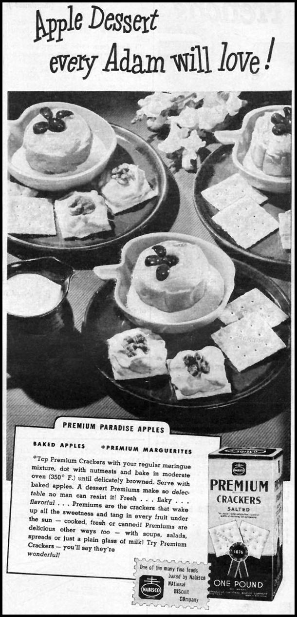PREMIUM SALTINES WOMAN'S DAY 01/01/1947 p. 49