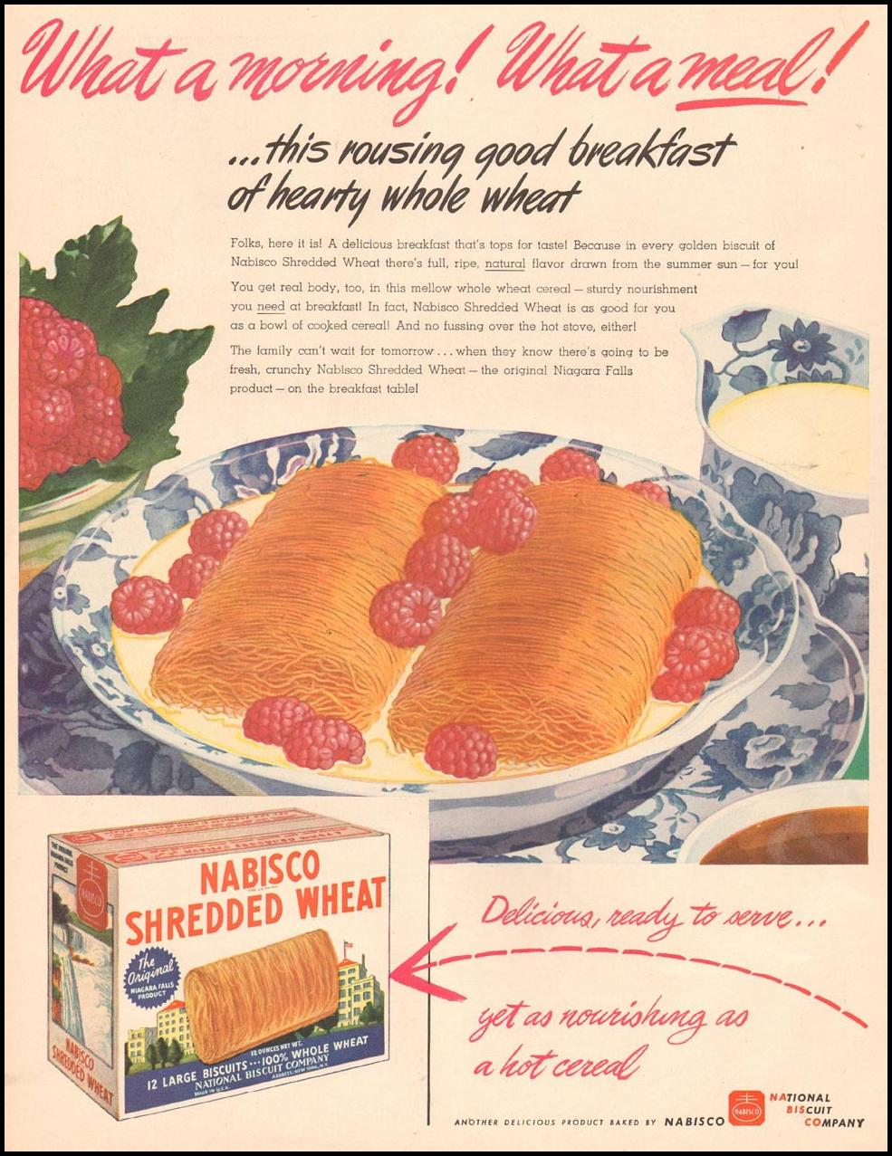 NABISCO SHREDDED WHEAT LIFE 06/04/1945