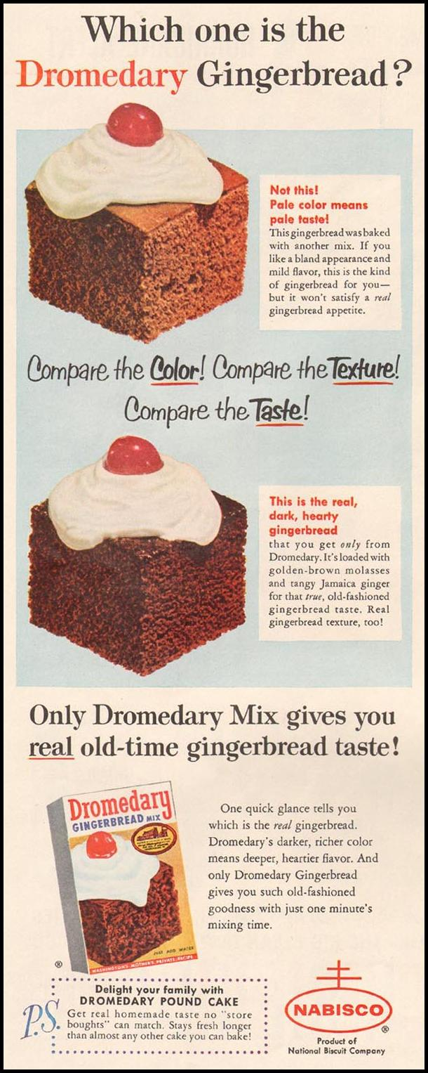 DROMEDARY GINGERBREAD MIX LIFE 10/05/1959 p. 120