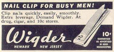 WIGDER NAIL CLIPPERS LIFE 06/23/1941 p. 79