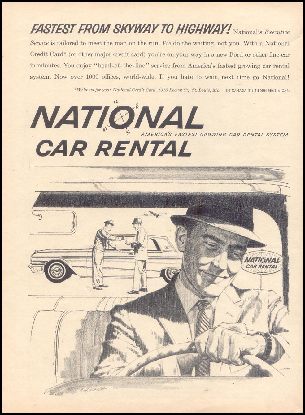 AUTOMOBILE RENTAL TIME 11/17/1961