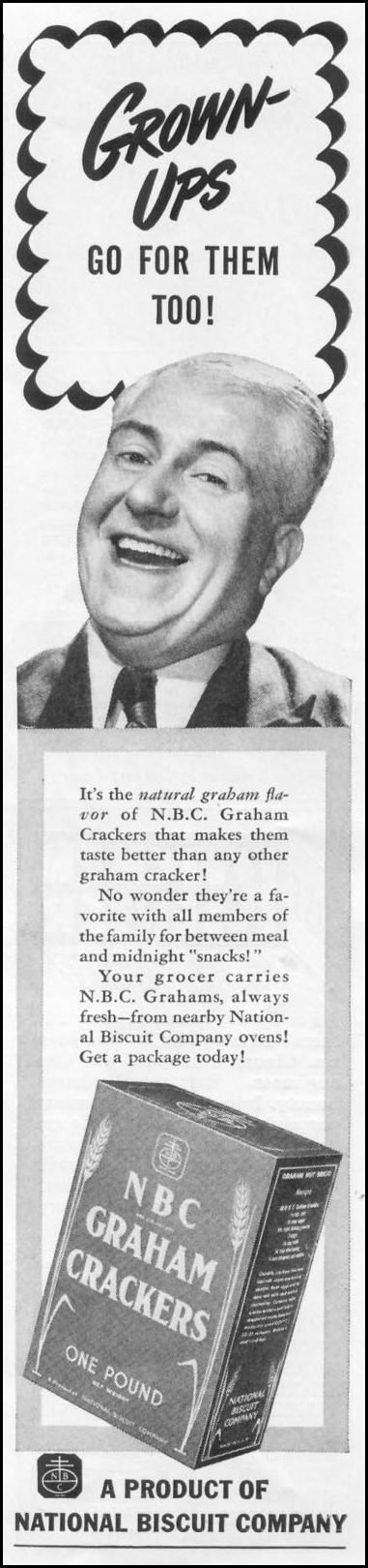 NBC GRAHAM CRACKERS WOMAN'S DAY 06/01/1939 p. 37